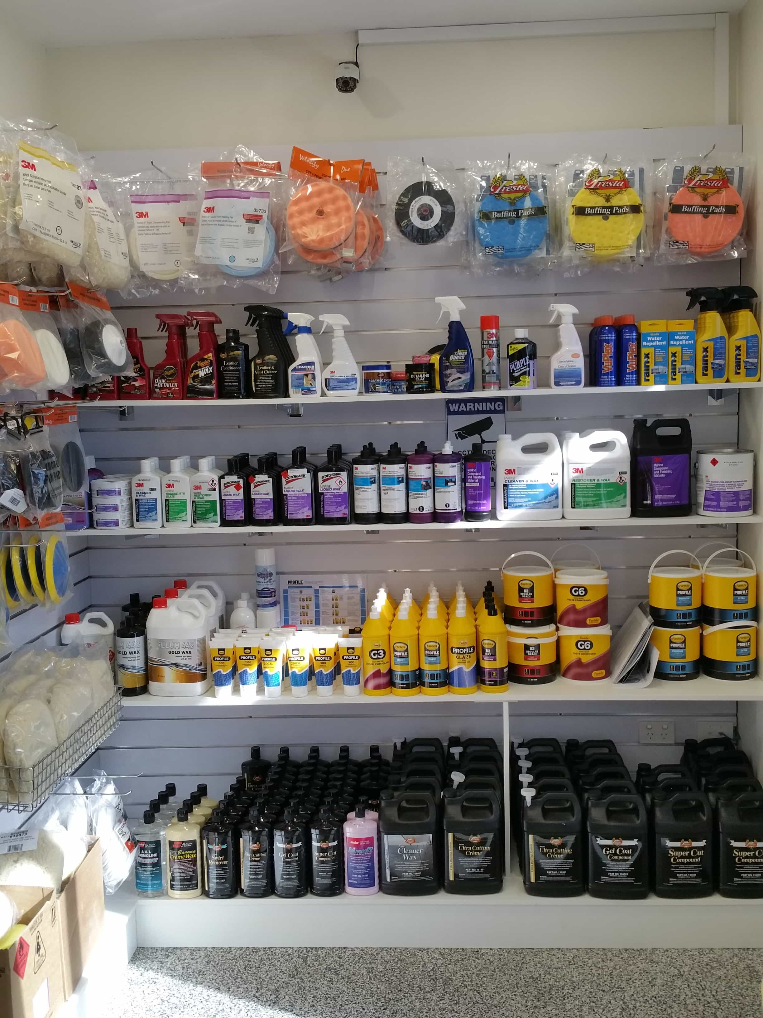 Boat Detailing Supplies