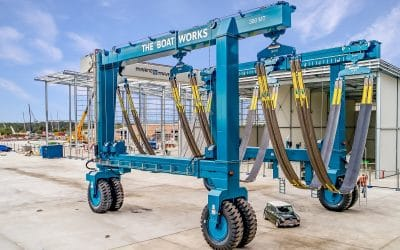 300t Travel Lift ready for January 2020